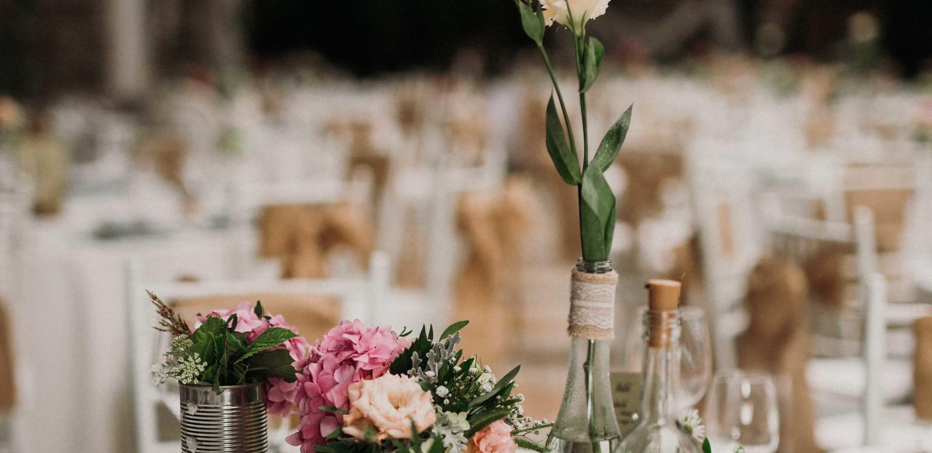 Asztali dekoráció az esküvőn- lakodalmon