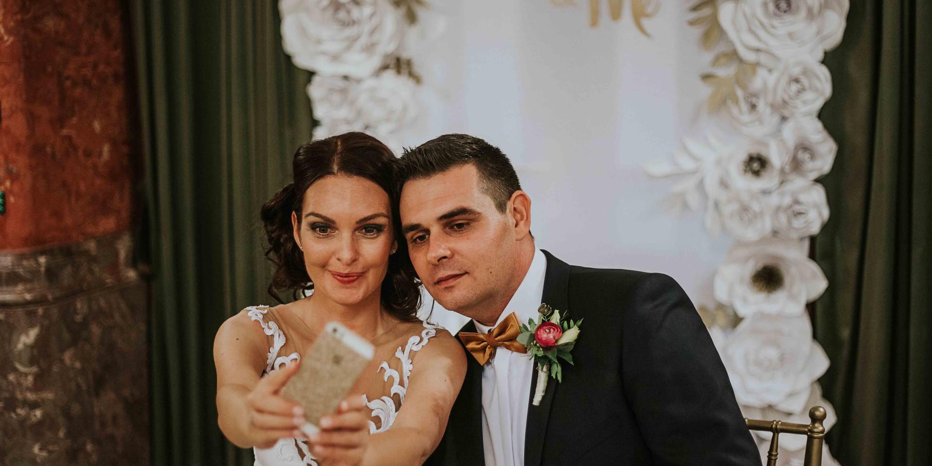Selfie wedding