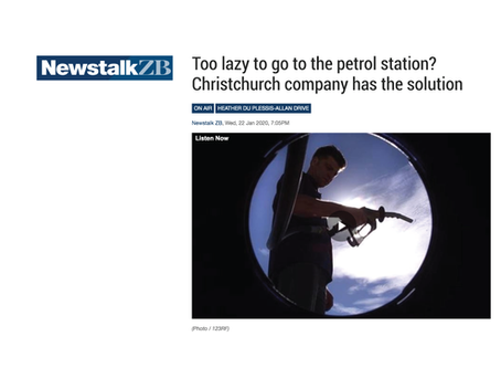 Too lazy to go to the petrol station? Christchurch company has the solution