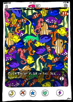 72. Fish in the sea