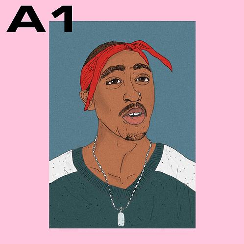 "SALE: ""Tupac"" A1"