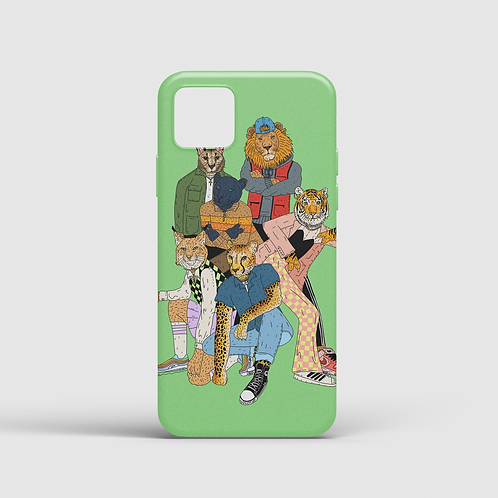 Big Meow Gang II (iPhone case)