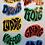 Thumbnail: Bergenske ord & uttrykk (8-pack stickers)