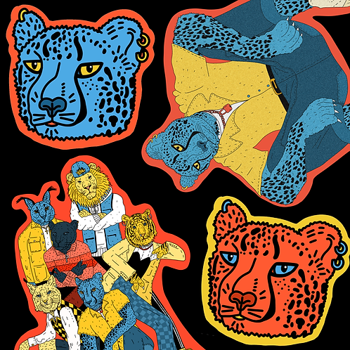 Frank #2 (4-pack stickers)