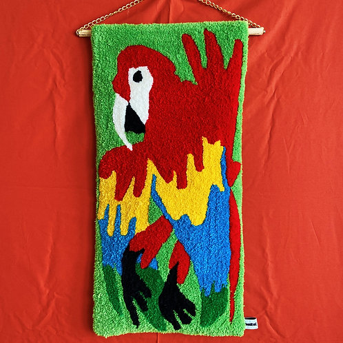 PARROT wall rug