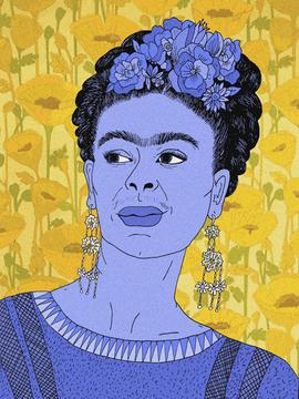 211. Frida Kahlo I