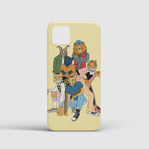 Big Meow Gang II (iPhone case)
