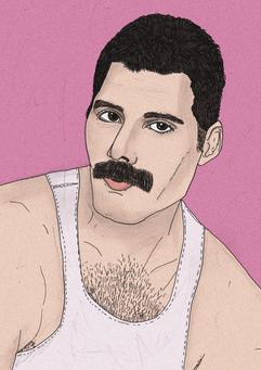410. Freddie Mercury LILLA.png