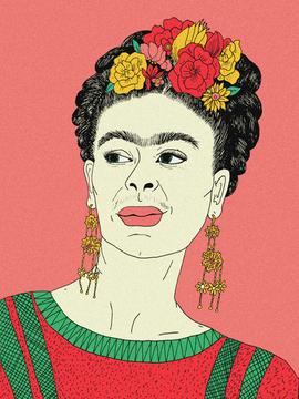 212. Frida Kahlo II