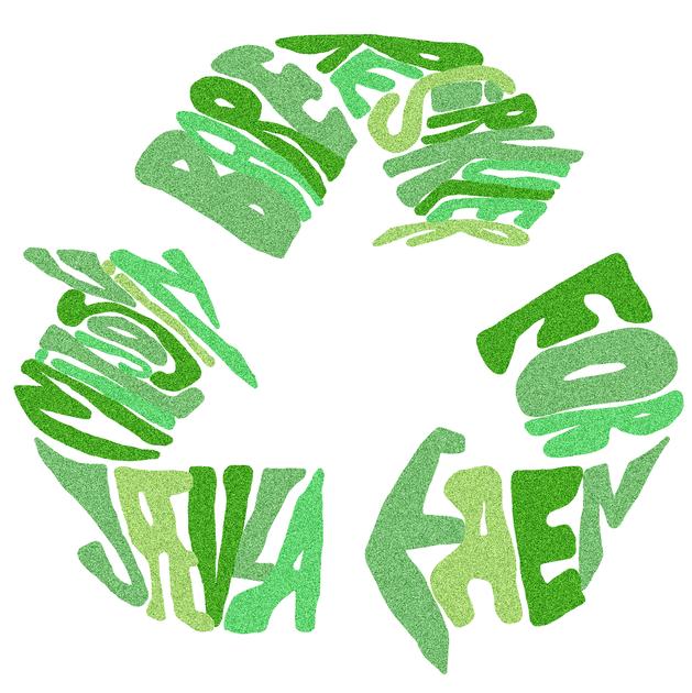 Miljø lettering