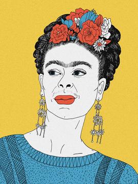 214. Frida Kahlo IV