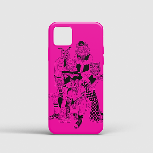 Big Meow Gang III PINK (iPhone case)
