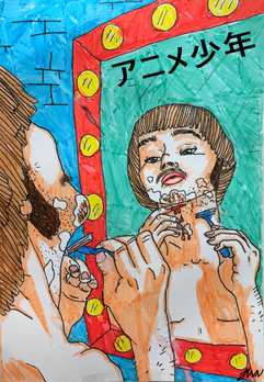 23. Anime gutt