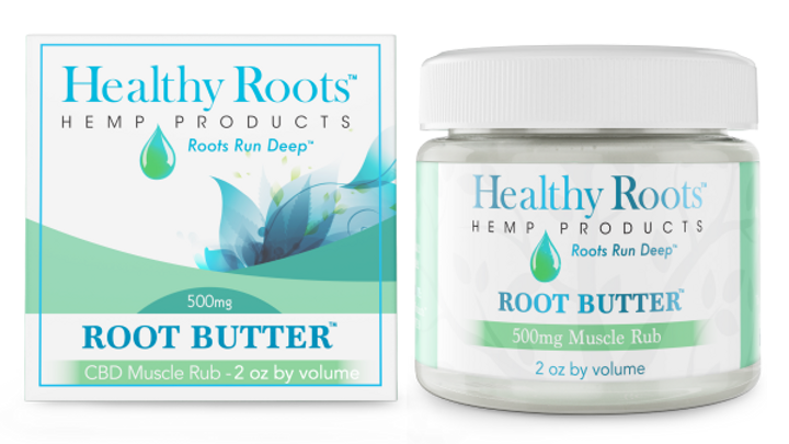 Root Butter Muscle Rub 500 Mg