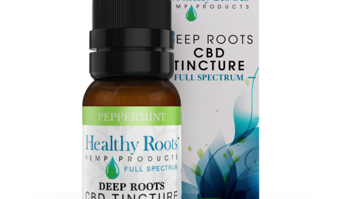 Deep Roots Full Spectrum CBD Tincture Peppermint 500mg
