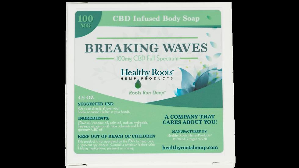 Heavenly Hemp Bar Soap Breaking Waves 100mg