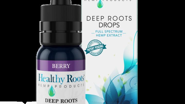 Deep Roots Full Spectrum Hemp Drops Berry 250mg