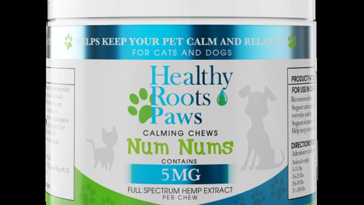 Num Nums Calming CBD Chews For Pets 300mg