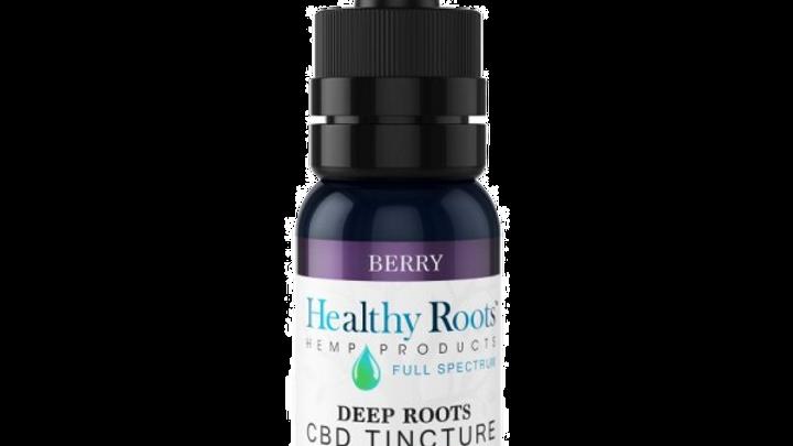 Deep Roots Full Spectrum CBD Tincture Berry 1000mg