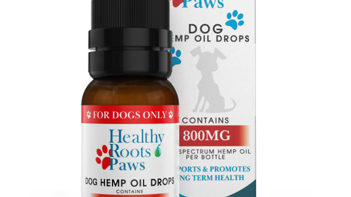 Hemp Oil Drops For Pets- Large Breed 800mg