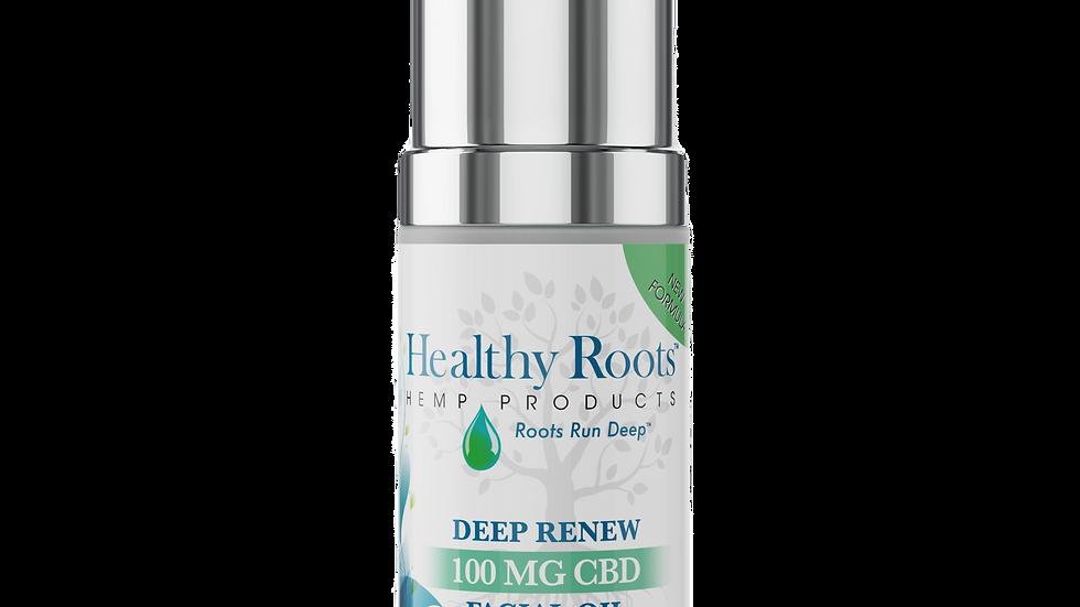 Deep Renew CBD Facial Oil – 100mg