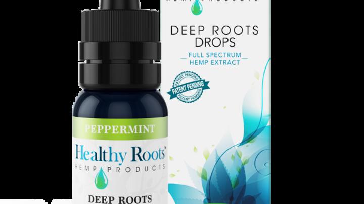 Deep Roots Full Spectrum Hemp Drops Peppermint - 250mg