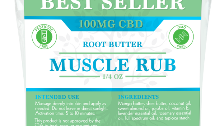 Root Butter Travel Size Mini – 100mg