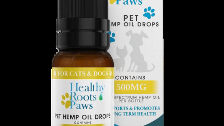 Hemp Oil Drops For Pets – Medium Breed 500mg