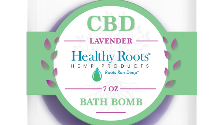 Stay Rooted CBD Bath Bombs Relaxing Lavender 50mg