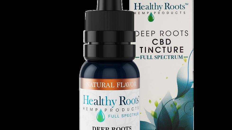 Deep Roots Full Spectrum CBD Tincture Natural 1000mg