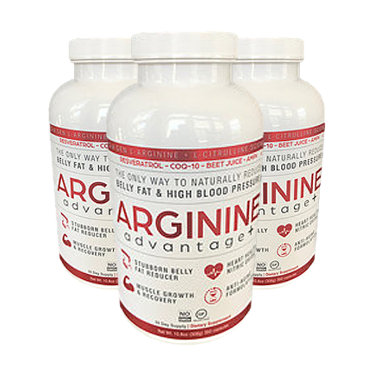 3 Bottles Arginine Advantage Plus