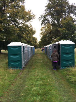 Portable loos for hire