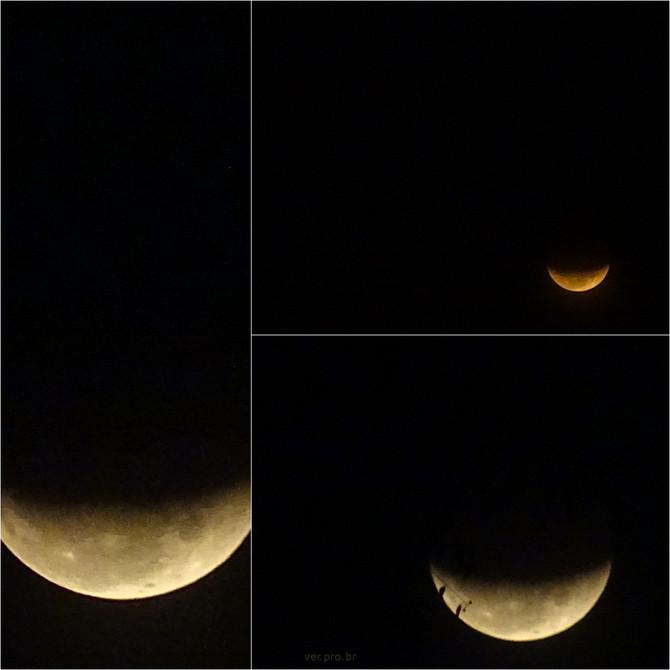 Eclipse lunar na escola