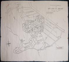 Mapa antigo do Jaguaré