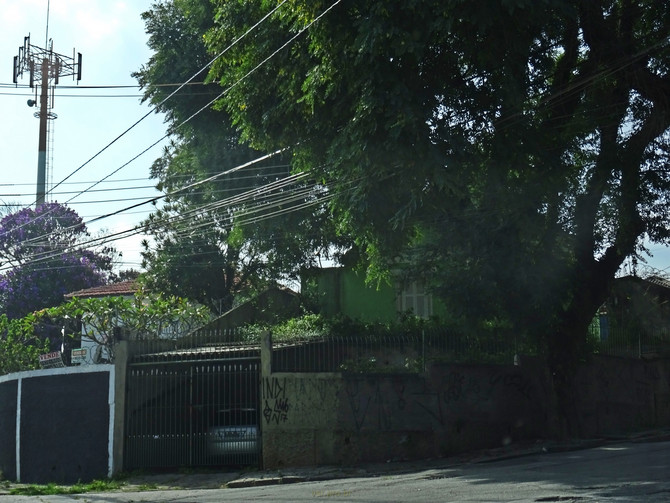 Casas antigas no Jaguaré