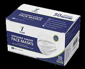 Yulwon Disposable Earloop Face Masks
