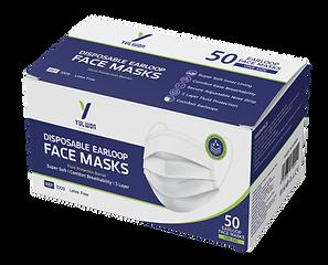 Yuwon Disposable Earloop Surgical Masks