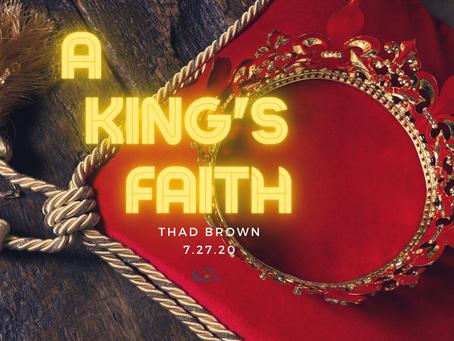 A  King's Faith