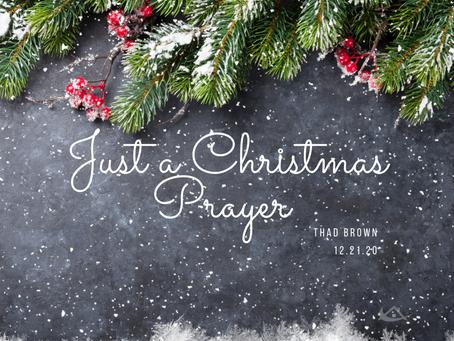 Just a Christmas Prayer
