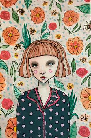 Girl with Polka Dot Pajamas.jpg
