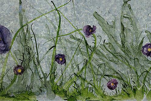 Tangle of Weeds: Peony Field