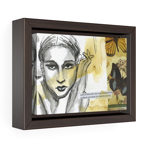Women of Substance - Crazy Mind Framed Premium Gallery Wrap Canvas