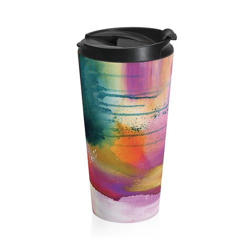 Serenity Stainless Steel Travel Mug