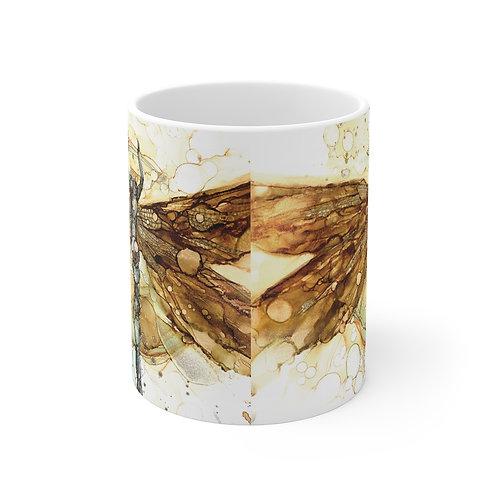 Fall Dragonfly Mug 11oz