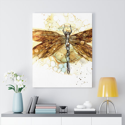 Fall Dragonfly Gallery Wrap Canvas