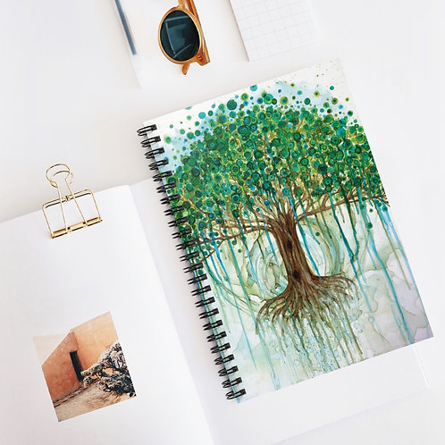Lifetree Spiral Notebook - Ruled Line