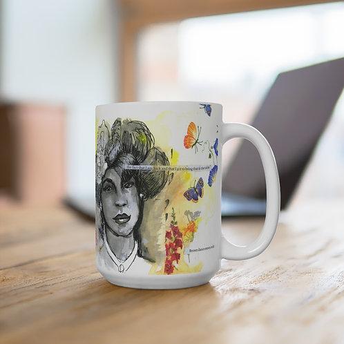 Women of Substance - Brown Dance Moves Coffee Mug 15oz