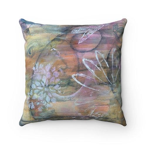 Vintaged Pillow - Spun Polyester