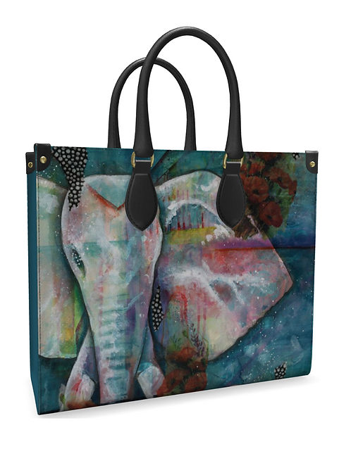 Leather Tote Bags - Multiple Designs