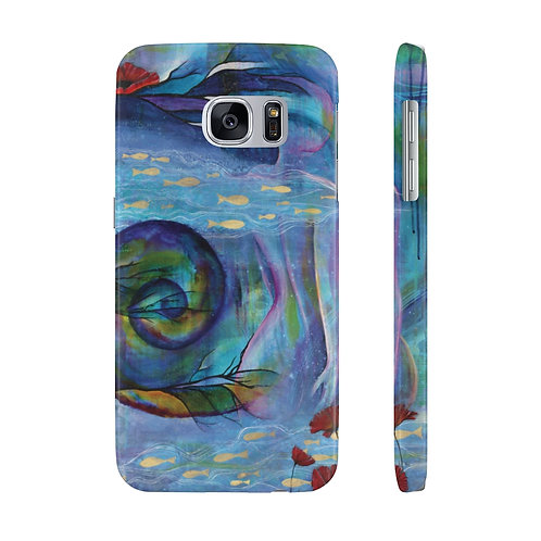 Poseidon's Muse Case Mate Slim Phone Cases